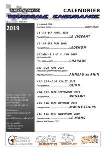 Calendrier Des Courses 2019.Calendrier Coursestte 2019 Tte