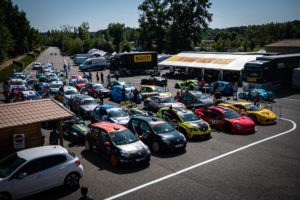 Pré-grille Free Racing Berline GT Nogaro