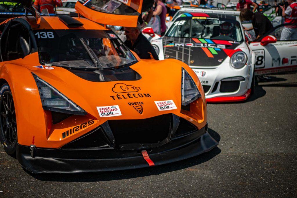 Pré-grille du Free Racing Berline/GT