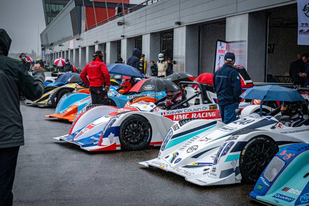 Départ en épi pour les concurrents de l'Endurance Proto à Nogaro