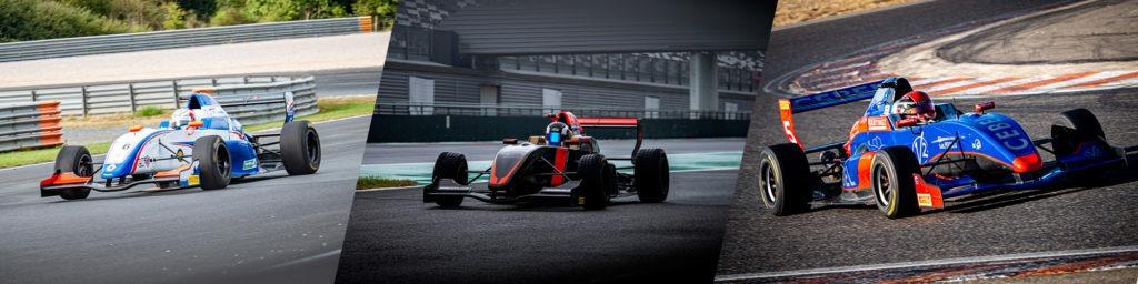 Top 3 de la catégorie A de la Formula'Cup 2020