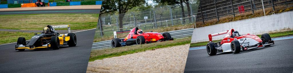 Top 3 de la catégorie A1 de la Formula'Cup 2020