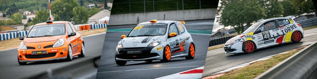 Top 3 du Challenge Clio III 2020