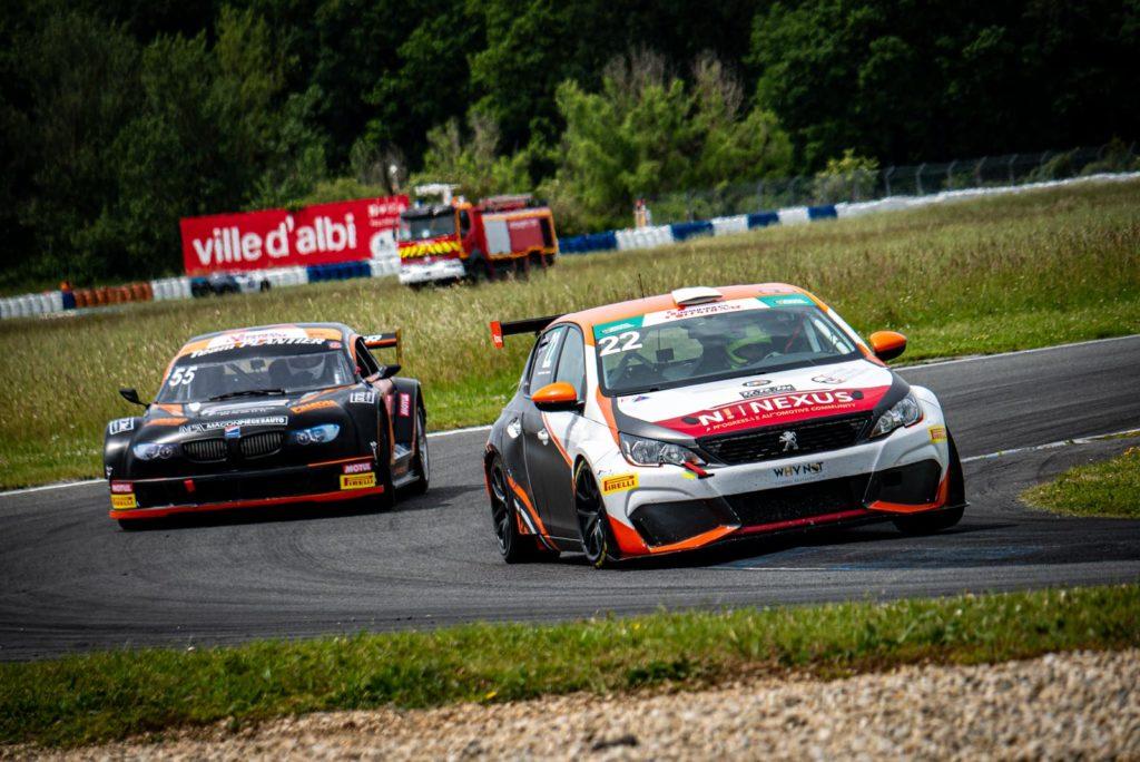 308 RC en TTE Pirelli Series à Albi