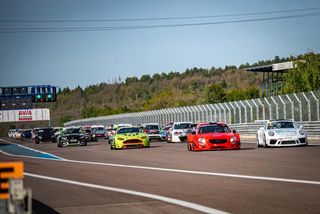 Départ du Free Racing Berline/GT à Dijon