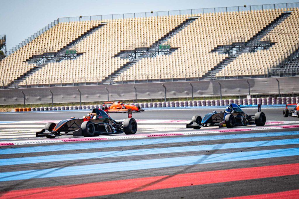 Les Formule Renault au Paul Ricard pour le TTE