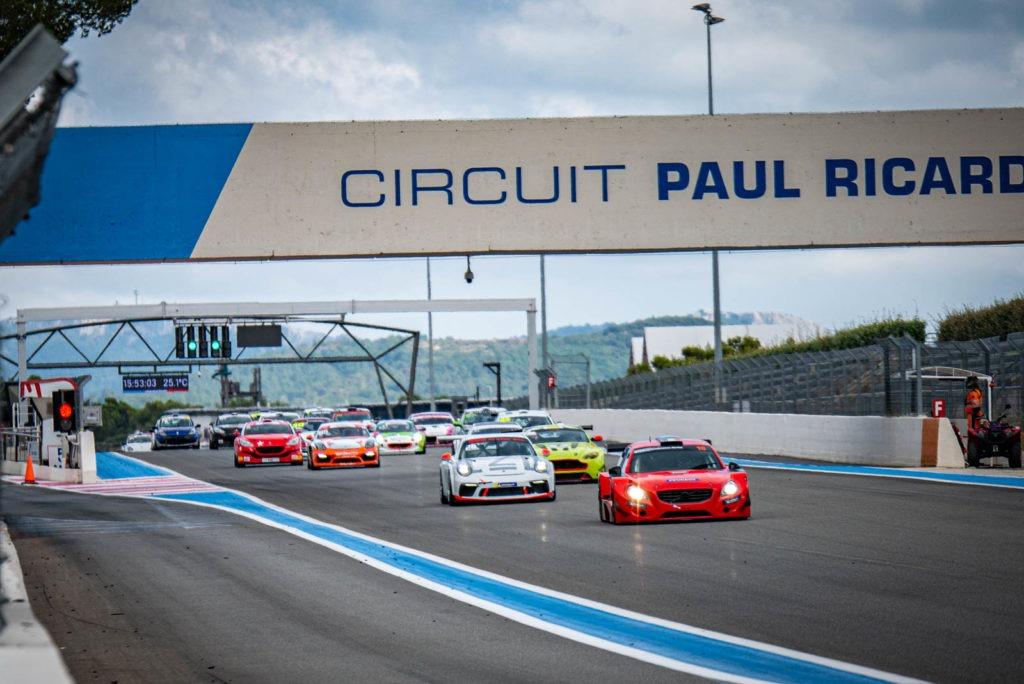 Le départ du Free Racing Paul Ricard pour le TTE
