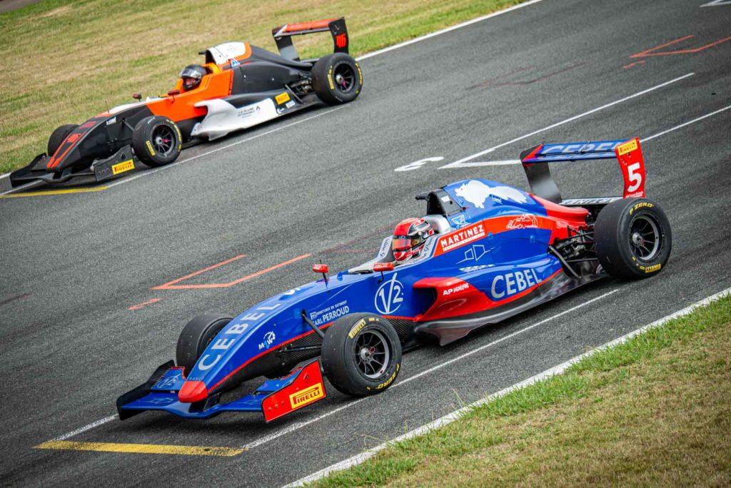 Formule Renault Cup à Nogaro 2021 pour le TTE
